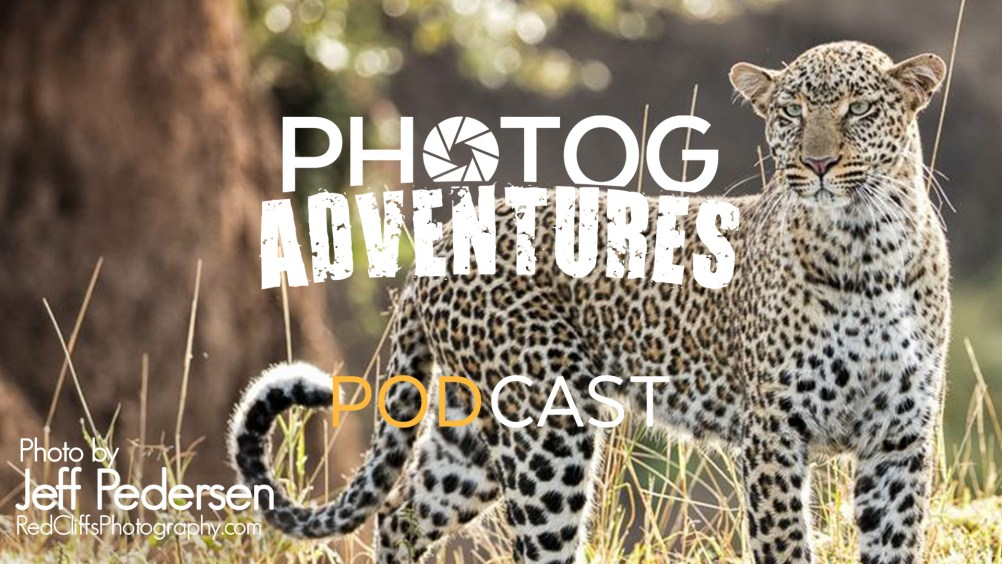 Jeff Pedersen, a retired California Firefighter & lover of Photography in the Deserts of the Southwest joins the show. He shares stories and tips from his time doing African Wildlife Photography. Jeff also tells us how to make money as a photographer working in Art Shows selling your prints.