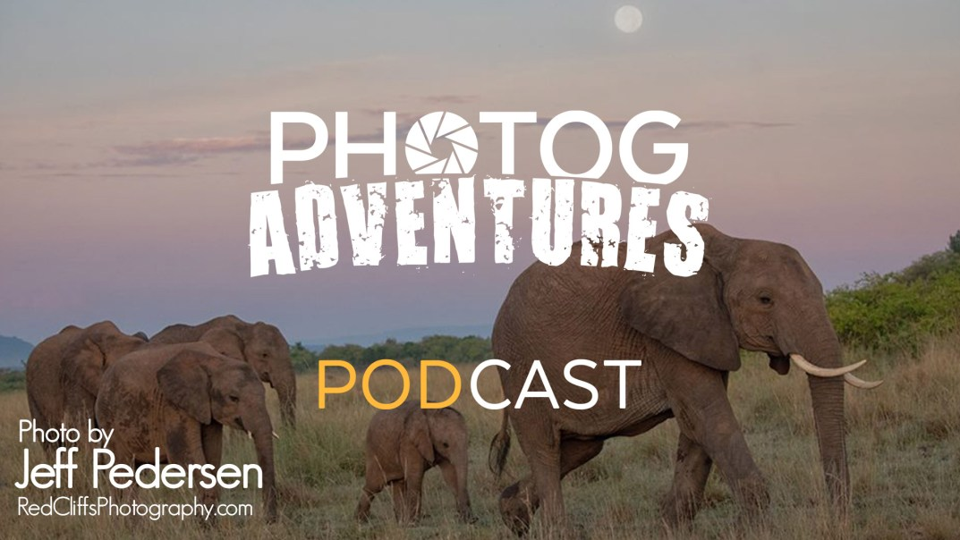 PODCAST 128: Jeff Pedersen | Wildlife Photography in Kenya, Africa!
