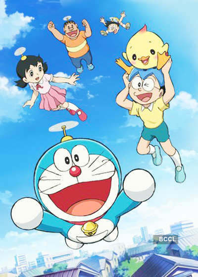 Shiva Animated Wallpaper A Still From The Animated Movie Doraemon In Nobita And