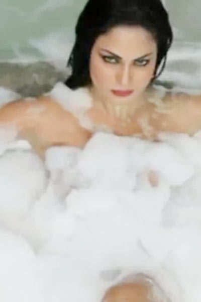 Veena Maliks Bathtub Act Pics Veena Maliks Bathtub Act