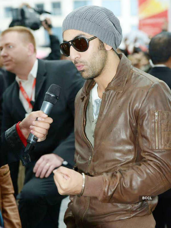Image result for ranbir leather jacket