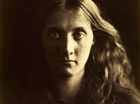 Julia Margaret Cameron Portrait de Julia Jackson collodion humide papier albuminé