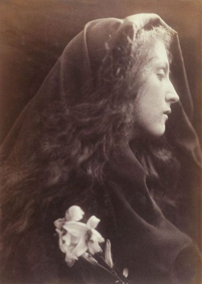Julia Margaret Cameron - L'ange du sépulcre en 1869-70