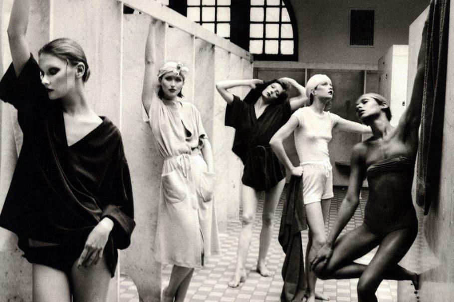 Deborah Turbeville (American, 1938–2013) - Bathhouse, New York, Vogue, 1975