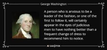 George Washington quote: A person who is anxious to be a leader of...