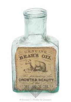 Bear's - Oil - Medicine Bottle, America, 1840-1860. Rectangular with  beveled corners, gr… | Vintage medicine bottle, Old medicine bottles,  Antique medicine bottles