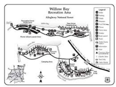 Willow Bay Recreation Area | Allegheny Site Management | Allegheny National  Forest | Bradford, PA | RV Camping, Tents, Cabins, Boat Rentals