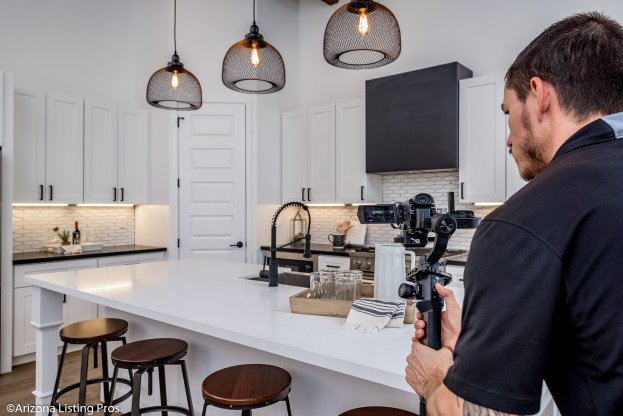 real estate video gear, camera settings for real estate video