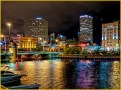 Milwaukee on the River by Don Plocher