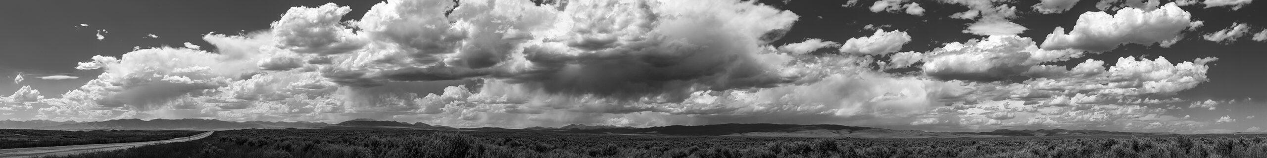 Utah Clouds B&W