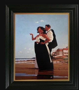 Missing Man II Jack Vettriano