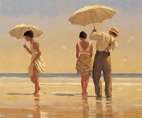 Mad Dogs…. Jack Vettriano limited edition print