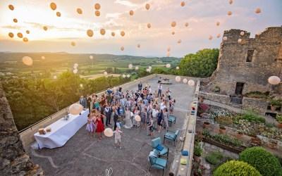 Mariage Sonya & Nicolas | Château de Vénéjan