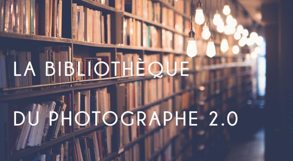 bibliothèque livres photographe stratège vivre de la photo