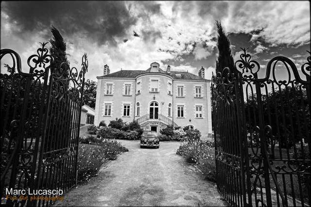 lieux et détails du mariage Château