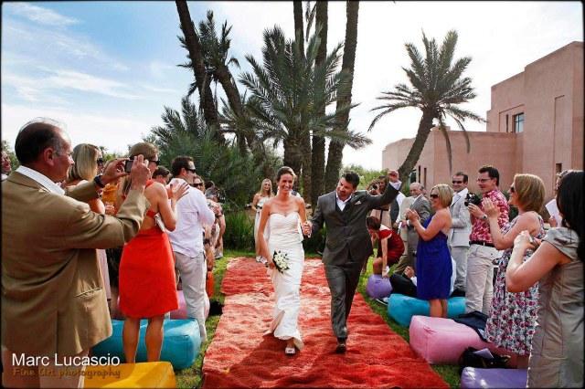 Cérémonie laïque Marrakech