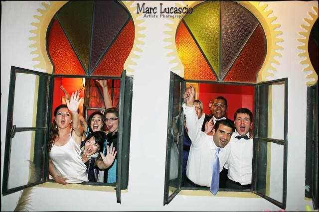 les témoins du mariage à Tanger