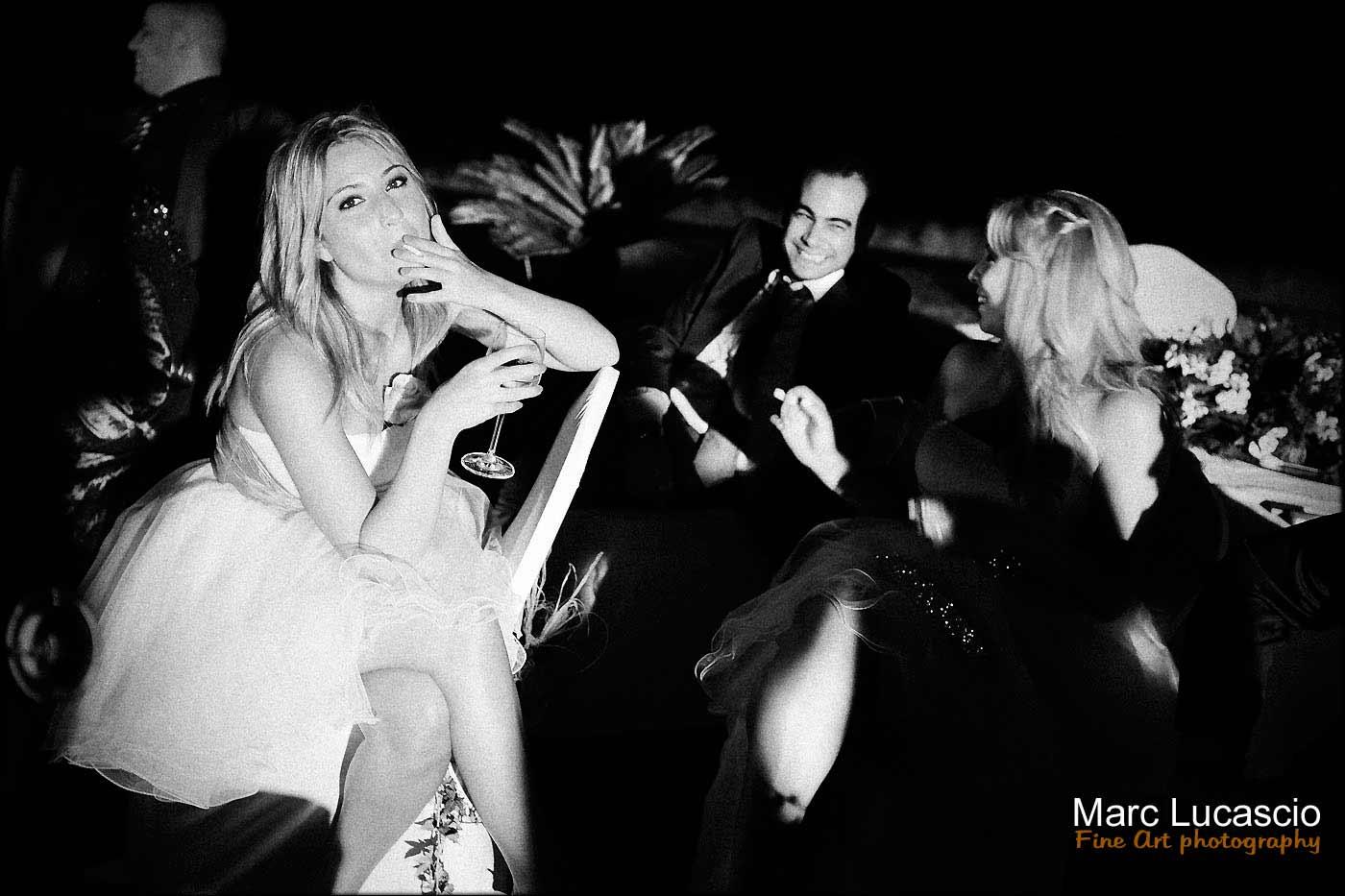 soirée et cocktail du mariage