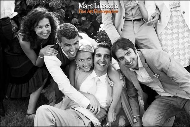 photo de groupe mariage juif