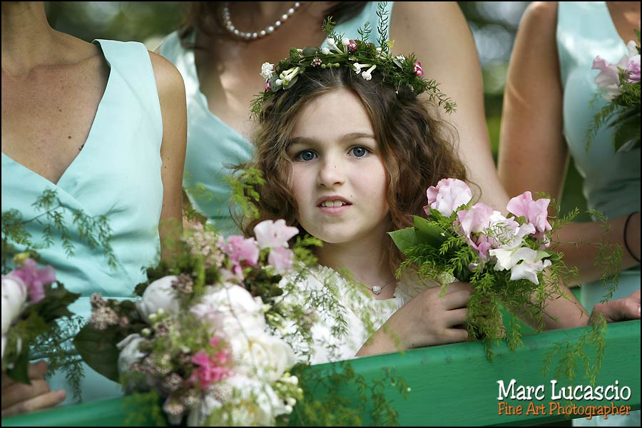photographie enfant mariage giverny