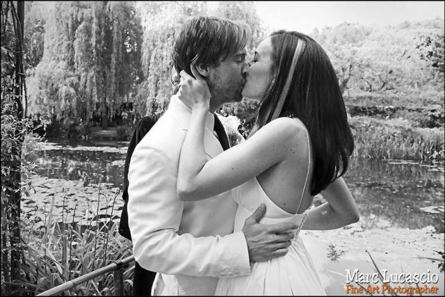 Photos cérémonie du mariage à Giverny