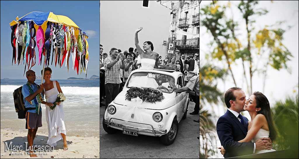 Photographes de mariage originales