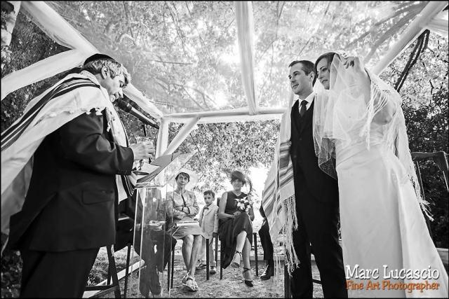 Belle cérémonie champêtre juive