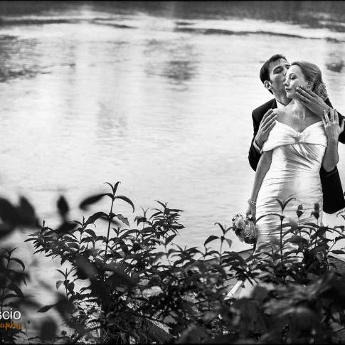 Mariage à Chantilly sur les bords de seine
