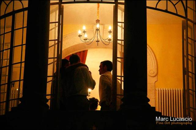 La soirée d'un mariage à Arcachon