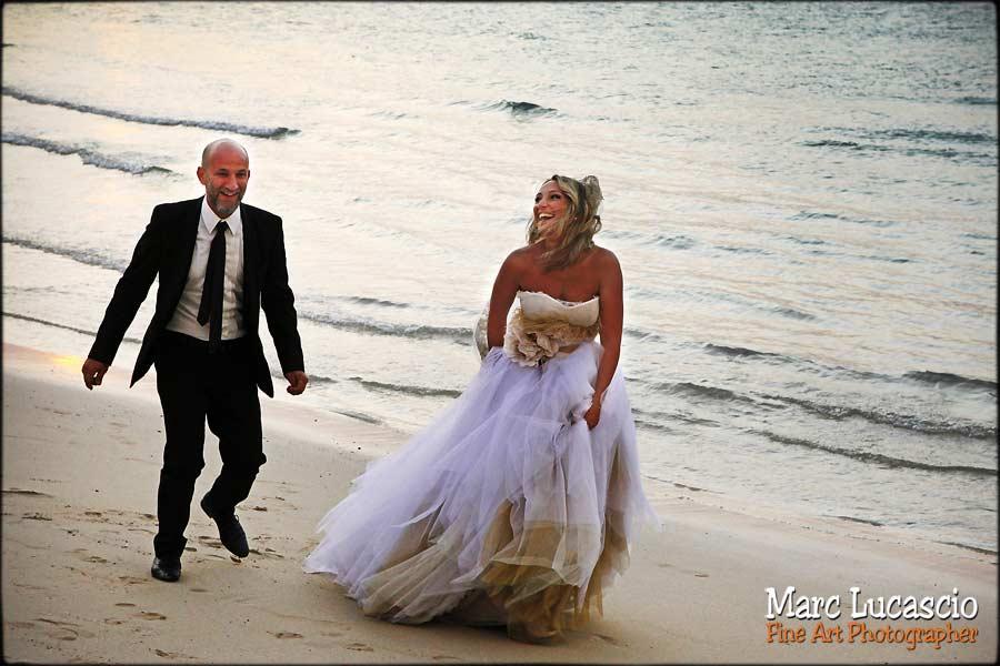 Dubaï photo couple plage