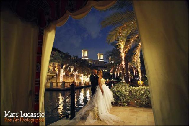Dubaï photo mariage de nuit