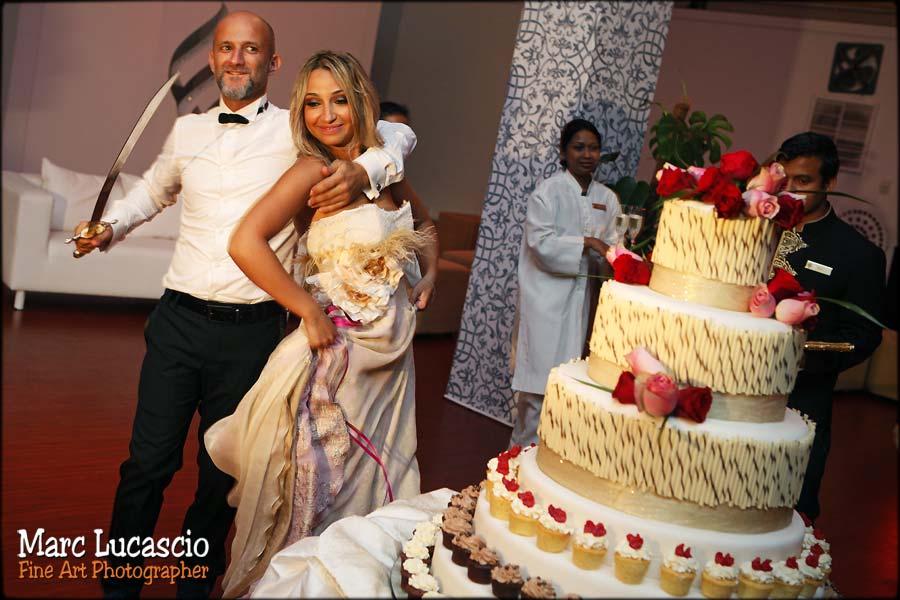Gâteau du mariage Dubaï