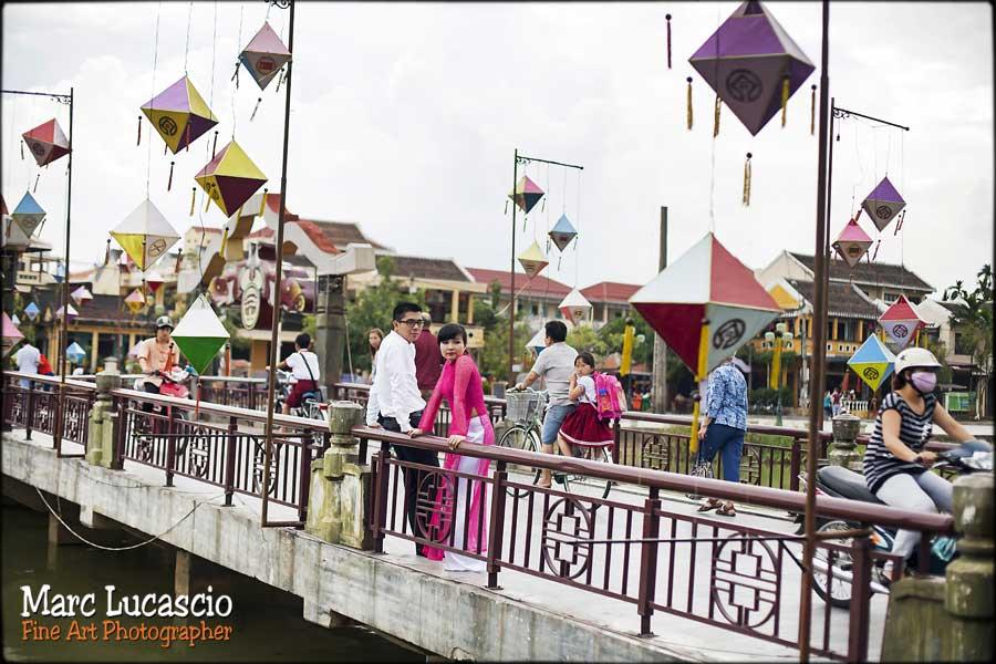 mariage Vietnam pont sur la rivière