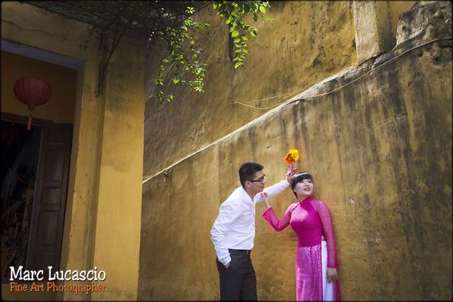 photo mariage Vietnam couleur