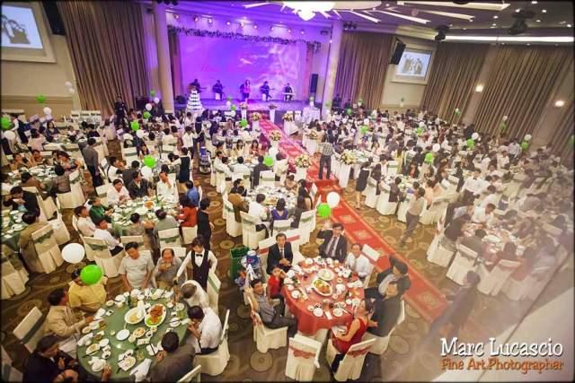 photo mariage Vietnam invités