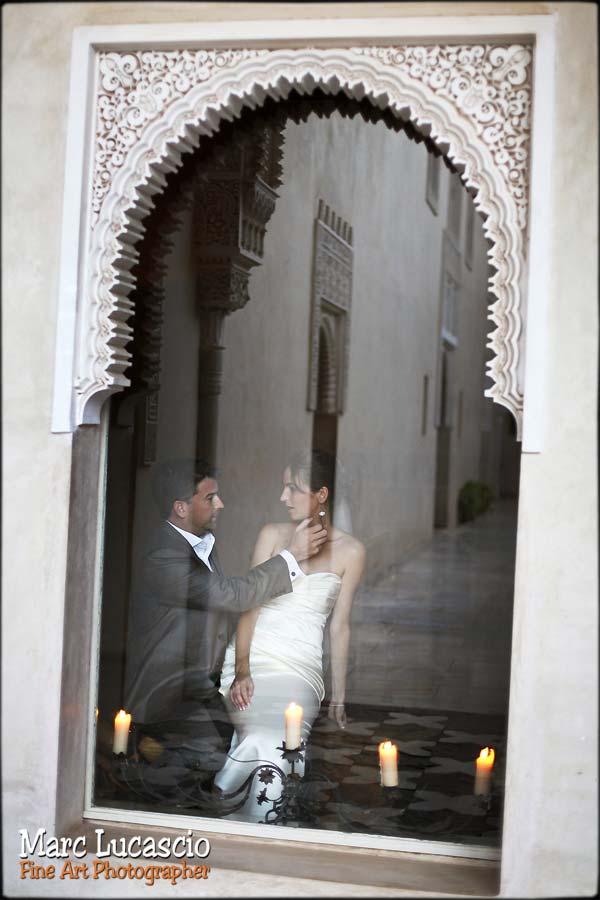 Une photo romantique dans un Riad à Marrakech