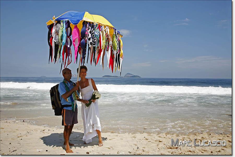 Photographe mariage Copacabana à Rio au Brésil