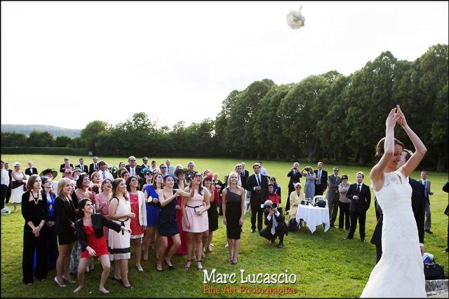 bouquet de la mariée mariage château de Neuville