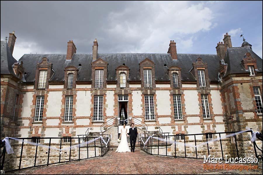 Château de Neuville photo couple