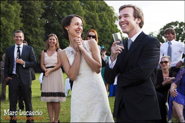 cocktail photo mariage château de Neuville