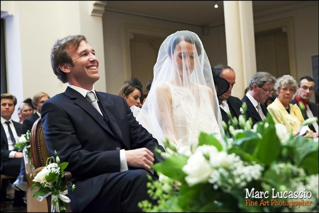 echanges voeux mariage protestant château de Neuville