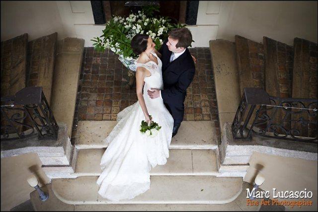 photo couple mariage château de Neuville