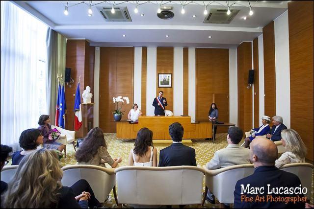mariage mairie 17 eme paris