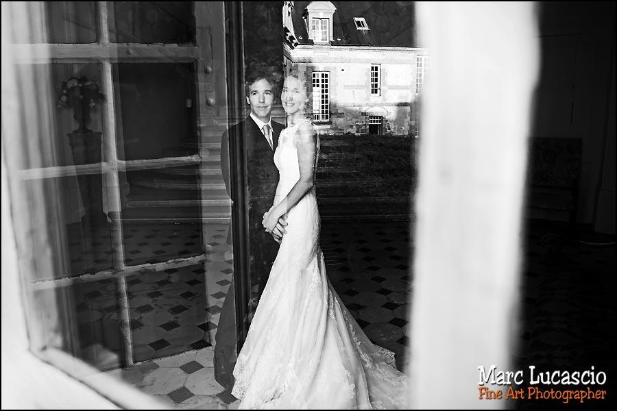 photo mariage artistique château de Neuville