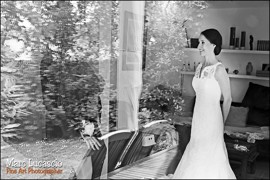 Noir et blanc photo préparation