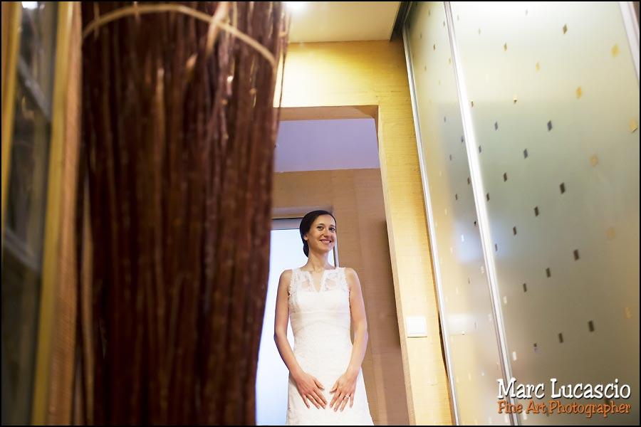 photo préparation mariage Versailles