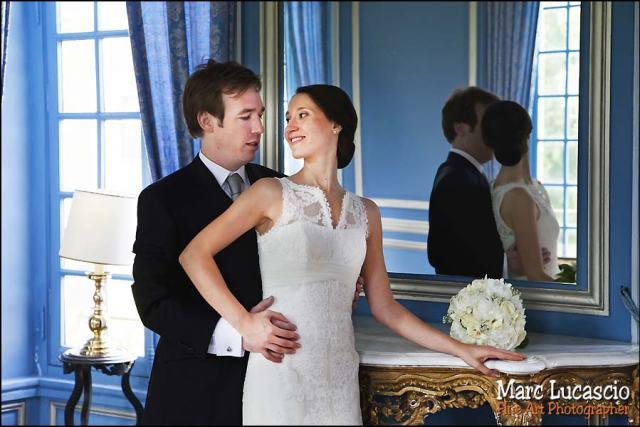 photographie mariage Château de Neuville