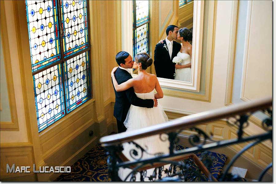 Photo portrait du couple à Genève