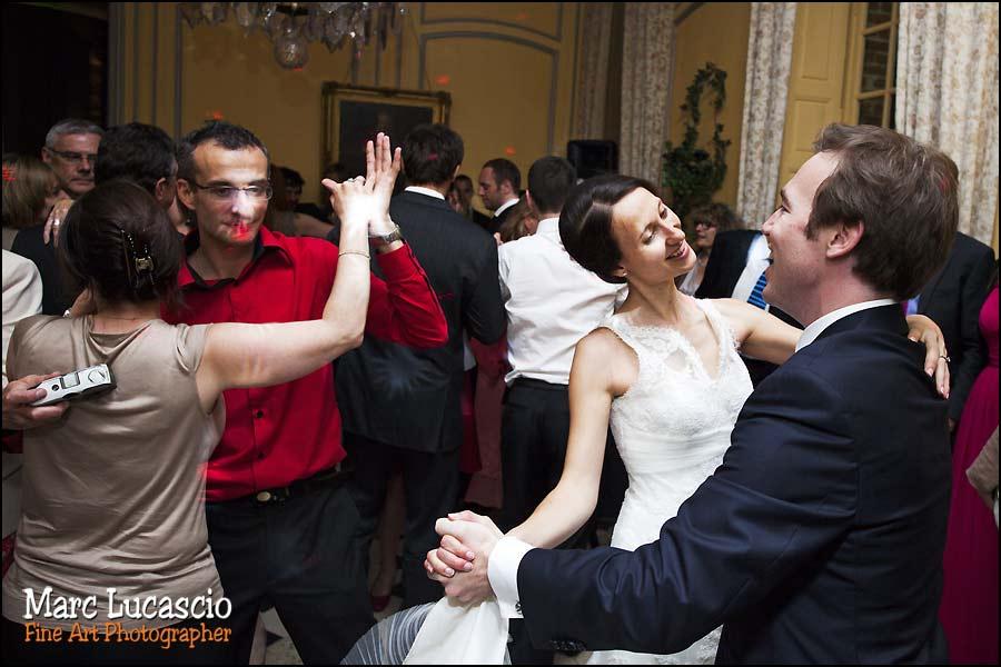 première danse mariage château de Neuville