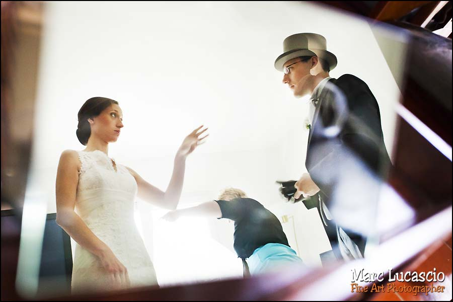 préparation mariage reflet miroir